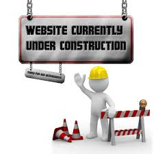 website under construction