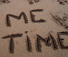 me time in sand