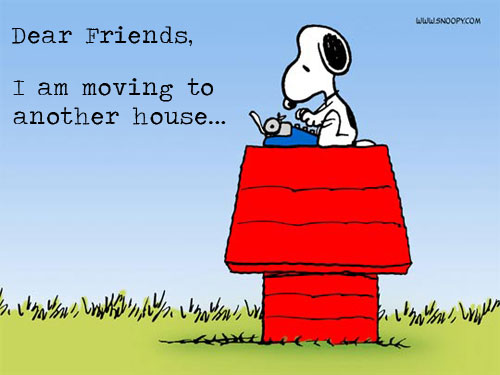snoopy moving